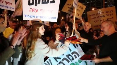 baskent - Netanyahu karşıtı protesto - TEL AVİV