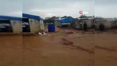 - Suriye'deki Filistin Mülteci Kampı Sular İçinde Kaldı