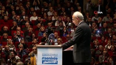 Kemal Kılıçdaroğlu mahalle temsilcileriyle buluştu