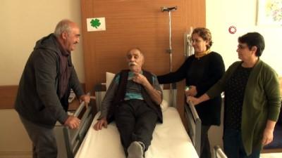 105 yaşındaki Yusuf Dede geçirdiği operasyonla sağlığına kavuştu İzle
