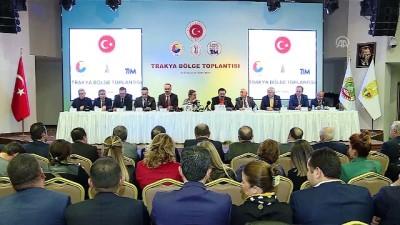 Bakan Pekcan: '35 yeni ülke ve bölgeye talep odaklı, yeni vizyonlu Türk Ticaret Merkezleri açacağız' - EDİRNE