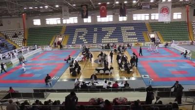 Karate şampiyonası sona erdi - RİZE