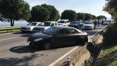 bild - Lastiği patlayan otomobil takla attı: 2 yaralı - SAMSUN