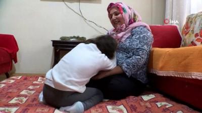 Minik Nazlıcan'a devlet eli...Bakıcılığını yaptığı engelli çocuğu evlatlık edinen anne, çocuğun tedavisi için devlet elinin uzatılmasının mutluluğunu yaşıyor