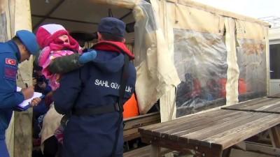 Adada mahsur kalan düzensiz göçmenler kurtarıldı (3) - BALIKESİR