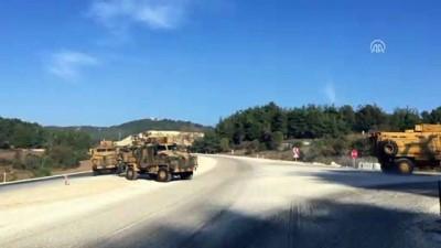 Suriye sınırına askeri sevkiyat - HATAY