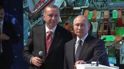TürkAkım doğalgaz boru hattı projesi 1 - İSTANBUL