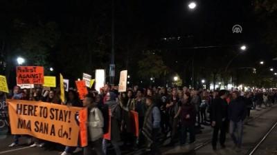 medya kuruluslari - Avusturya'da aşırı sağcı hükümet karşıtı gösteri - VİYANA