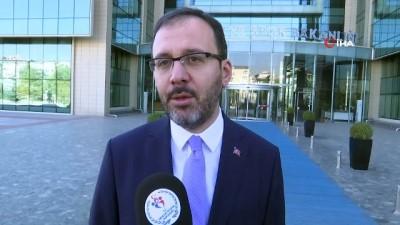 Bakan Kasapoğlu'ndan derbi öncesi fair-play vurgusu