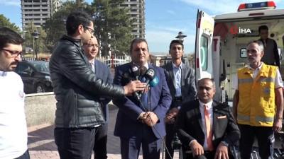 Elazığ'da engelliler için özel ambulans