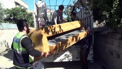 Hayırda Öncüler Derneğinden, evi yanan Suriyeli aileye destek - OSMANİYE