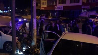 alabalik - İki otomobil çarpıştı: 1 yaralı - ADIYAMAN