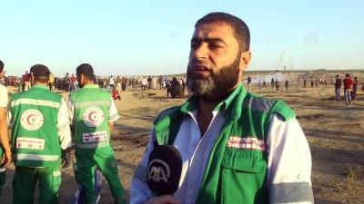 ingiltere - İsrail askerleri Gazze sınırında 7 Filistinliyi yaraladı (1) - GAZZE