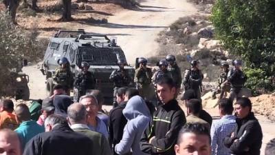İsrail güçlerinden Batı Şeria'daki gösterilere müdahale - RAMALLAH