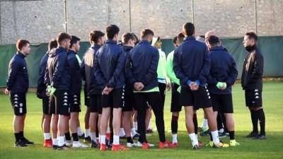 Kardemir Karabükspor'da Boluspor maçı hazırlıkları - KARABÜK