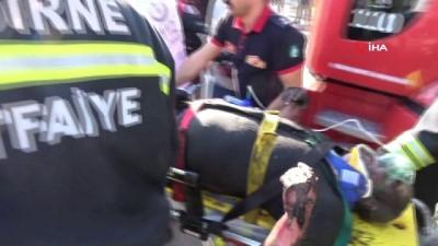 Kazan dairesinde patlama: 1'i ağır 3 yaralı