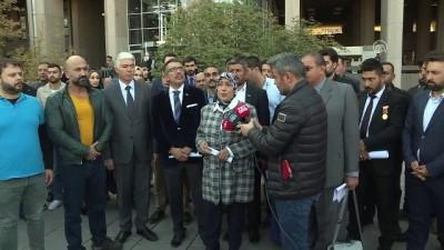 Şehit yakını ve gazilerden milletvekili İslam'a suç duyurusu - ANKARA