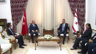 Türkiye'nin Lefkoşa Büyükelçisi Başçeri'den nezaket ziyaretleri - LEFKOŞA