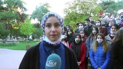 Üniversite öğrencilerden Lösemili çocuklara maskeli destek