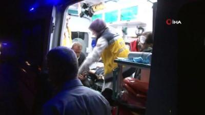 Zonguldak'ta pikap ile kamyonet çarpıştı: 2 yaralı