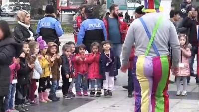 Çocuk haklarına dikkat çekmek için bir araya geldiler - DÜZCE