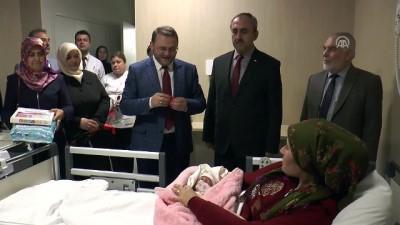 hastane - Mevlit Kandili'nde doğan bebekleri ziyaret edip isimlerini koydular - MERSİN