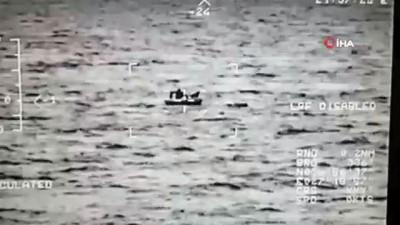 Mülteci teknesi battı: 1 ölü