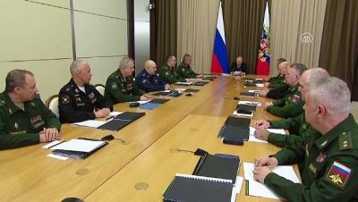 """Putin: """"ABD'nin anlaşmadan çıkma kararı cevapsız bırakılmayacak"""" - SOÇİ"""