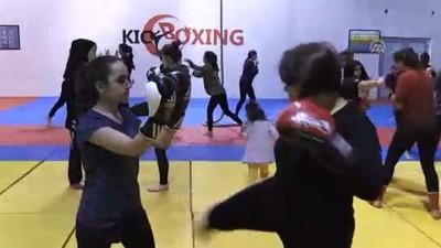 Sağlıklı yaşam için kick boksa başladı - ADIYAMAN