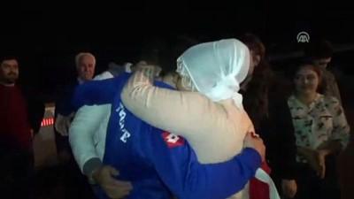 Şampiyon güreşçi Cengiz Arslan'a coşkulu karşılama - AYDIN
