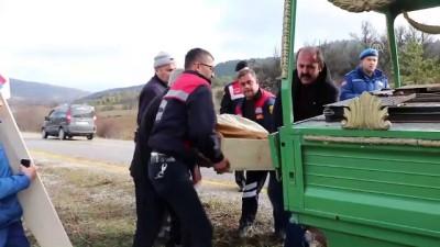Trafik kazası: 1 ölü, 2 yaralı - KASTAMONU