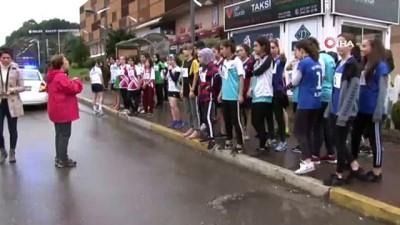 Zonguldak'ta bayıltan koşu