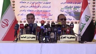 Irak ile İran arasında sınır iş birliği protokolü - SÜLEYMANİYE