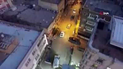 Nusaybin'de torbacılara düzenlenen operasyon havadan görüntülendi: 7 gözaltı