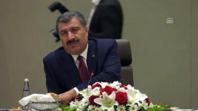 Sağlık Bakanı Koca - e-Nabız sistemi - ANKARA