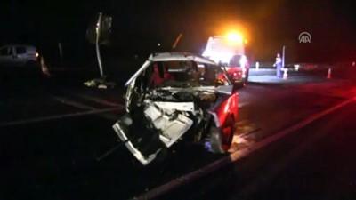 Trafik kazası: 1 ölü 3 yaralı - TEKİRDAĞ