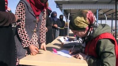 Türk Kızılayından Musullu sığınmacılara yardım - MUSUL
