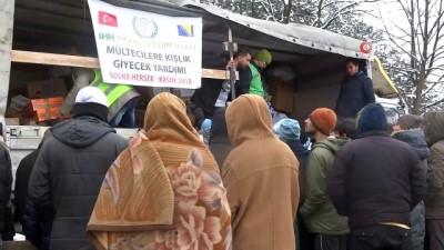 multeci kampi -  - Göçmenlerin Bosna Hersek-Hırvatistan Sınırındaki Zorlu Bekleyişi Sürüyor - Mülteciler Kışı Çadırlarda Bekliyor