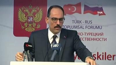 İbrahim Kalın: '2019 yılının sonuna doğru S-400'lerin ilk bataryaları Türkiye'ye teslim edilecek'