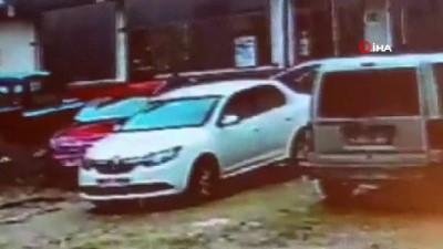 Kuaför kadının öldürülme anı kamerada