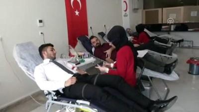 Sağlık Bakanlığı çalışanları kan bağışladı - ANKARA