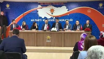 Bakan Kurum: 'Bu bölgede her zaman söz sahibi olduk, olmaya devam edeceğiz' - NEVŞEHİR
