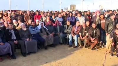 Gazze sınırındaki 'Büyük Dönüş Yürüyüşü' gösterileri 35. cumasında (3) - HAN YUNUS