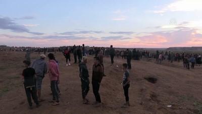 İsrail askerleri Gazze sınırında 12 Filistinliyi yaraladı - GAZZE