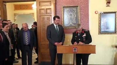 Jandarma Genel Komutanı Orgeneral Çetin Sivas'ta