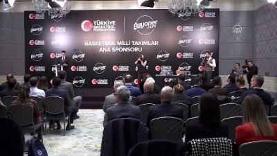 TBF ile Bilyoner.com arasında sponsorluk anlaşması - İSTANBUL