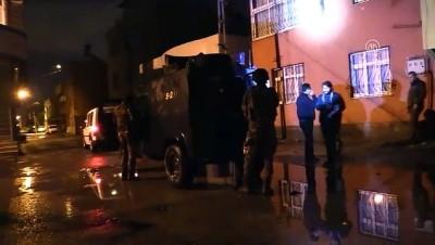 ozel harekat polisleri - Terör operasyonunda 16 kişi gözaltına alındı - ADANA