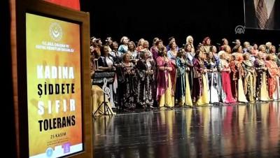 Bursa'da 'Kadına Yönelik Şiddetle Uluslararası Mücadele Günü' konseri