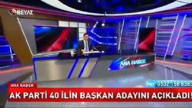 Cumhurbaşkanı Erdoğan 40 ilin belediye başkan adayını açıkladı