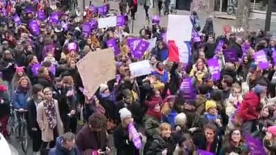 - Fransa'da Kadınlar Şiddete Karşı Yürüdü
